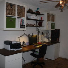 Eclectic Home Office Our Office