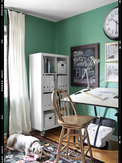 Home Office   Eclectic Home Office Idea In Atlanta