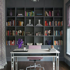 eclectic home office by Northworks Architects and Planners