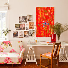 Eclectic Home Office by Red Images Fine Photography