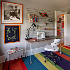 Eclectic Home Office by Twin Cities Closet Co.