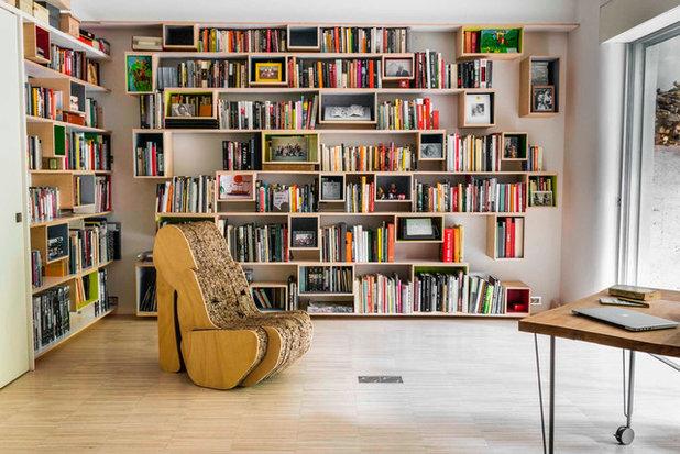 12 ideas para organizar una biblioteca en el sal n for Organizar salon