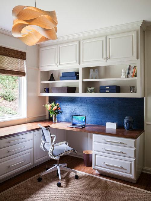 Arbeitszimmer mit bambusparkett ideen f r ihr home - Wandfarbe arbeitszimmer ...