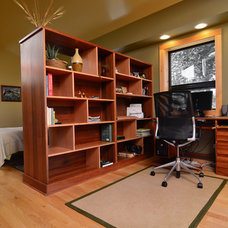 contemporary home office by Mountainwood Homes