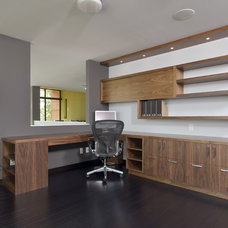 Modern Home Office by Rosenow   Peterson Design