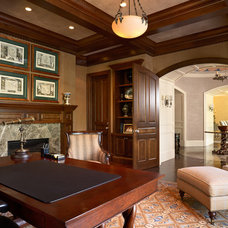Traditional Home Office by Ramsey Engler LTD