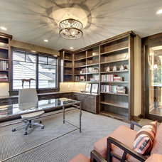 Transitional Home Office by SKD Architects
