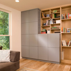 Contemporary Home Office by Revision LLC