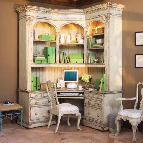 Shabby Chic Office Houzz