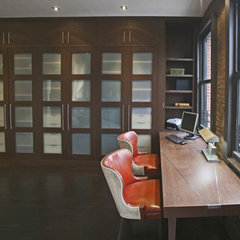 modern home office by Eisner Design LLC