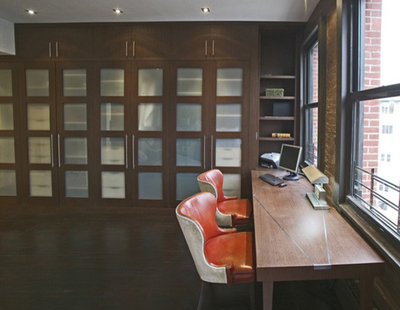 Modern Home Office By Eisner Design Llc