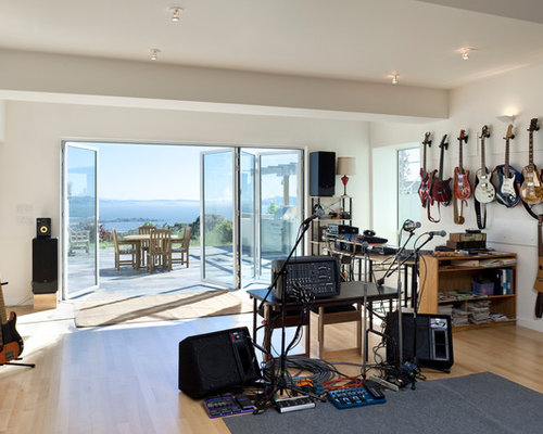 Superb Best Music Room Design Ideas Remodel Pictures Houzz Largest Home Design Picture Inspirations Pitcheantrous