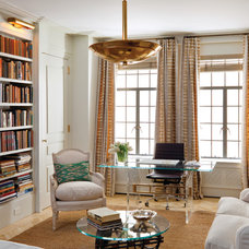Transitional Home Office by Best & Company