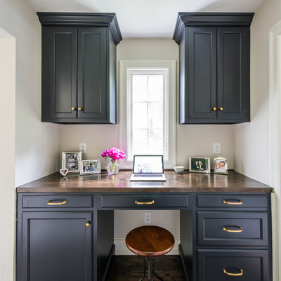 Transitional Home Office by PS & Daughters