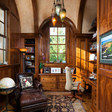 Traditional Home Office by Kyle Hunt & Partners, Incorporated