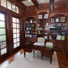 Traditional Home Office by Bluebonnet Building & Renovation, Inc