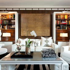 Contemporary Home Office by Anthony Michael Interior Design, Ltd.