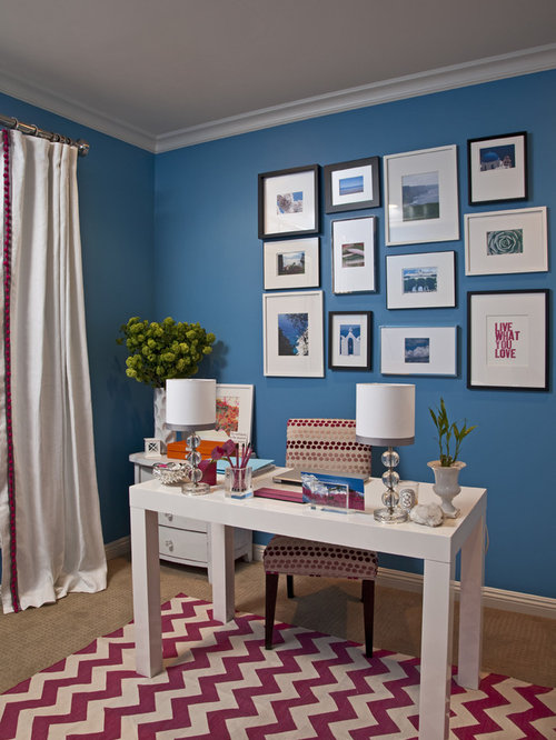 Office Wall Colour Design : Home office paint colors design ideas pictures