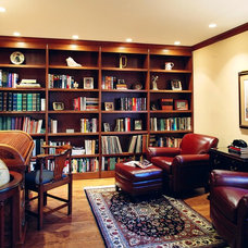 Traditional Home Office by Bud Dietrich, AIA