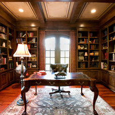 Traditional Home Office by Russell Eppright Custom Homes