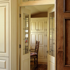 Traditional Home Office by Glen Alspaugh Kitchens and Baths