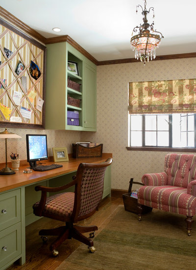 Traditional Home Office by Gerry Dunleavy Construction