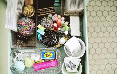8 Ways to Get a Handle on the Junk Drawer