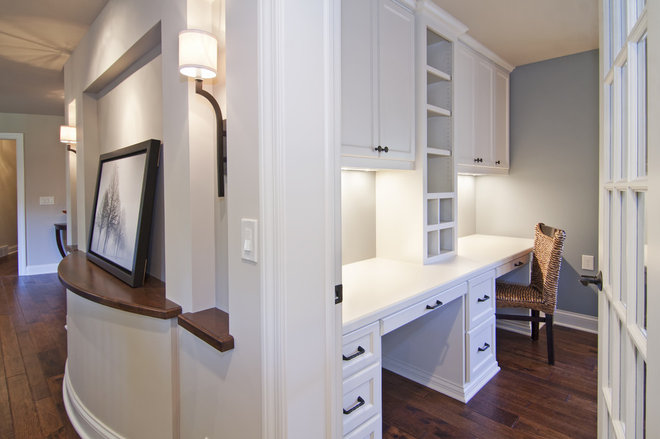 Modern Home Office by Schrader & Companies