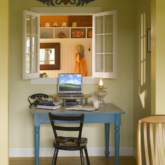 traditional home office by TruexCullins Architecture + Interior Design
