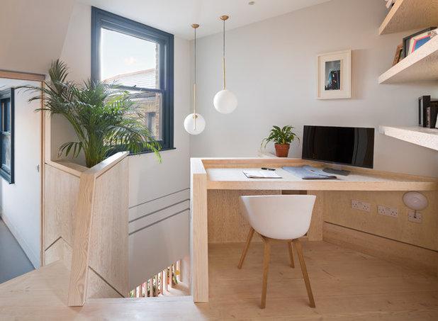 Contemporain Bureau à domicile by Shape London