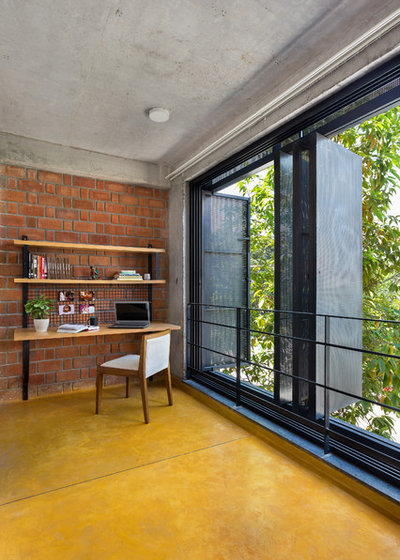 Contemporary Home Office by Between Spaces