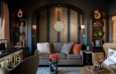 Hardworking Study and Guest Room Inspired by Africa