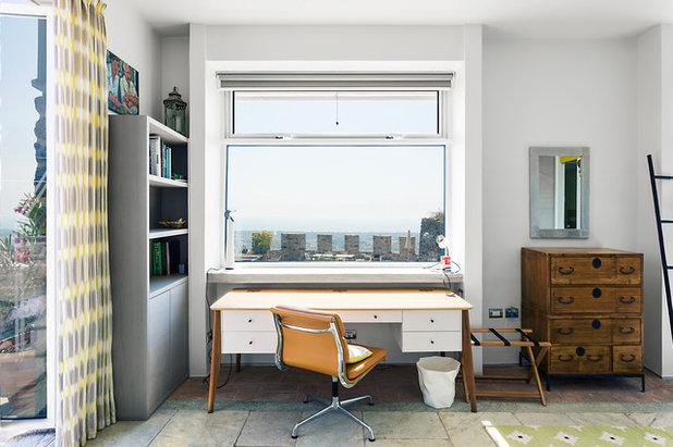 Eklektisch Arbeitszimmer by Habitus Design Ltd.