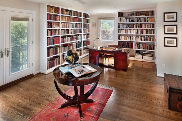 Traditional Home Office by Anthony Wilder Design/Build, Inc.