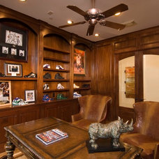 Traditional Home Office by Bunker Hill Design