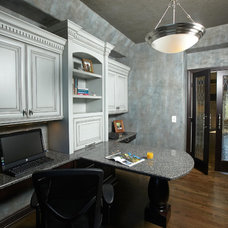 traditional home office by Jaque Bethke for PURE Design Environments Inc.