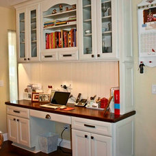 Traditional Home Office by Erin Hurst, CKD