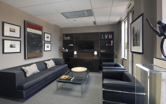 Home Office by Dunlap Design Group, LLC