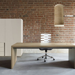Executive Office - Ostino - Simple and distinctive form of OSTINO office furniture is inspired by the geometry of the contemporary modernistic architecture. The furniture is designed for demanding customers with an established taste, aware of their needs and high expectations.