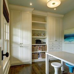 traditional home office by Rockwood Custom Homes