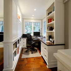 Traditional Home Office by Lake Country Builders