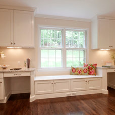 Traditional Home Office by Cameo Kitchens, Inc.