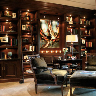 Inspiration for a home office remodel in San Diego