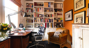 at home office ideas. Create A Home Office That Works For You At Ideas