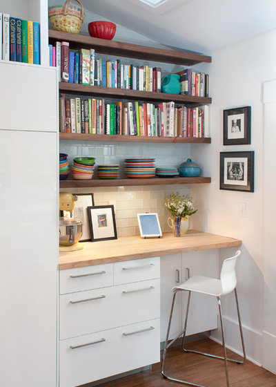 Contemporary Home Office & Library by Roost Interior Design