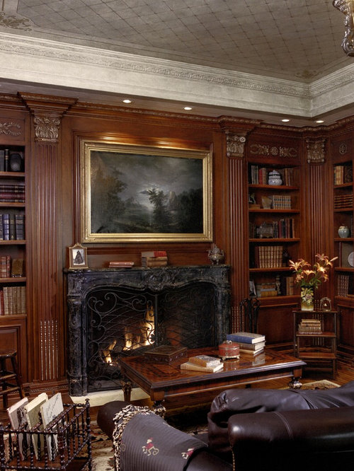 Library Fireplace Design Ideas Amp Remodel Pictures Houzz