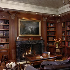 Traditional Home Office by Just Joh