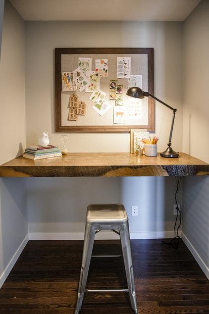 Contemporary Home Office by Natalie Fuglestveit Interior Design