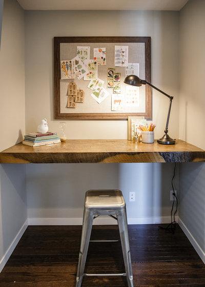 コンテンポラリー ホームオフィス・書斎 by Natalie Fuglestveit Interior Design