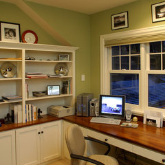 traditional home office by Ron Brenner Architects